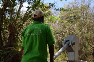 The Water Project: Ndithi Community A -  Pumping New Well
