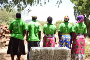 The Water Project: Ndithi Community -  Shg Members Show Off Their Custom Shirts