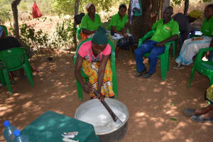 The Water Project: Ndithi Community -  Soapmaking