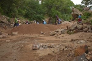 The Water Project: Ndithi Community -  Well Site