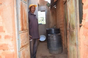 The Water Project: Kasekini Community -  Water Storage Container