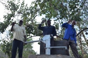 The Water Project: Mbau Community C -  Celebrating New Well