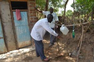 The Water Project: Mbau Community C -  Handwashing Exercise