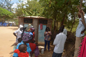 The Water Project: Mbau Community C -  Training On Tippy Tap