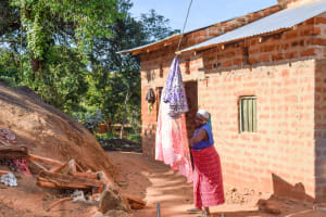 The Water Project: Kasekini Community A -  Clothesline