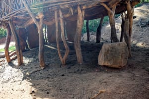 The Water Project: Kasekini Community A -  Livestock Pen