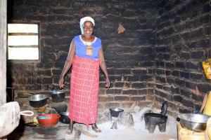 The Water Project: Kasekini Community A -  Posing In Kitchen