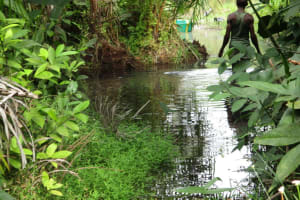 The Water Project: Kamayea, Susu Community & Church -  Alternate Water Source