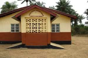 The Water Project: Kamayea, Susu Community & Church -  Church