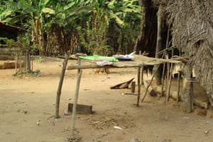 The Water Project: Kamayea, Susu Community & Church -  Dishes Rack