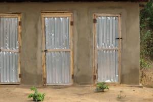 The Water Project: Kamayea, Susu Community & Church -  Latrine