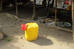 The Water Project: Kamayea, Susu Community & Church -  Water Storage