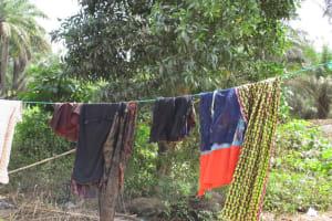 The Water Project: Lokomasama, Musiya, Nelson Mandela Secondary School -  Clothes Drying