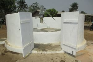 The Water Project: UBA Senior Secondary School -  Completed Well