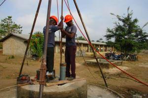 The Water Project: UBA Senior Secondary School -  Drilling