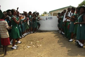 The Water Project: UBA Senior Secondary School -  Gathered At The Dedication