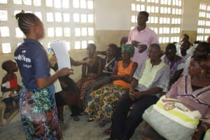 The Water Project: UBA Senior Secondary School -  Headman Participating In Hegyiene Training