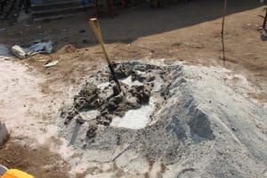 The Water Project: UBA Senior Secondary School -  Mixing Cement