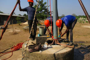 The Water Project: UBA Senior Secondary School -  Preparing To Drill