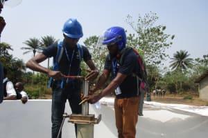The Water Project: UBA Senior Secondary School -  Pump Installation
