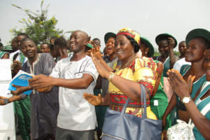 The Water Project: UBA Senior Secondary School -  Singing
