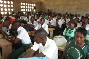 The Water Project: UBA Senior Secondary School -  Students At The Training