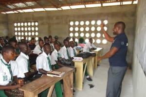 The Water Project: UBA Senior Secondary School -  Training