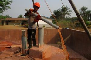 The Water Project: Rowana Junior Secondary School -  Bailing Well