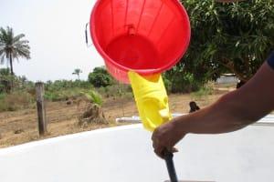 The Water Project: Rowana Junior Secondary School -  Chlorination