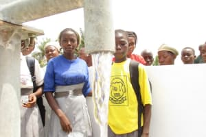 The Water Project: Rowana Junior Secondary School -  Clean Water Flowing