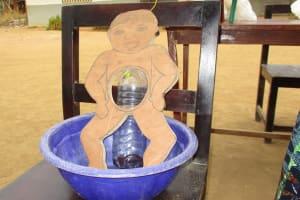 The Water Project: Rowana Junior Secondary School -  Diarrhea Doll