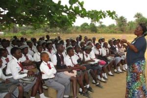 The Water Project: Rowana Junior Secondary School -  Facilitator Instructs The Students