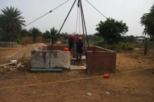 The Water Project: Rowana Junior Secondary School -  Getting Prepared To Drill
