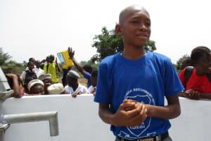 The Water Project: Rowana Junior Secondary School -  Ibrahim S Kamara School Head Boy