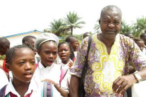 The Water Project: Rowana Junior Secondary School -  Mr Boyah School Inspectorate Making Statement
