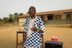 The Water Project: Rowana Junior Secondary School -  Mr Boyah Inspector Of School Kaffubullom Chiefdom