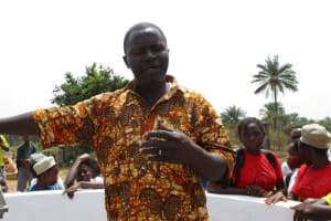 The Water Project: Rowana Junior Secondary School -  Mr David Conteh School Principal