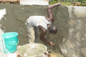 The Water Project: Rowana Junior Secondary School -  Pad Construction