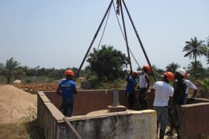 The Water Project: Rowana Junior Secondary School -  Setting Up Tripod