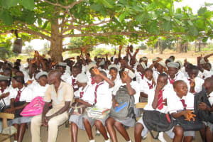The Water Project: Rowana Junior Secondary School -  Students Participate In Training