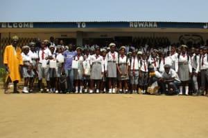 The Water Project: Rowana Junior Secondary School -  Training Participants