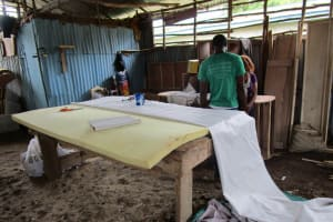 The Water Project: Lungi, Rotifunk, 1 Aminata Lane -  Clothes Making