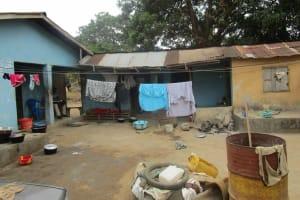 The Water Project: Lungi, Rotifunk, 1 Aminata Lane -  Household Compound