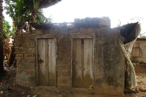 The Water Project: Lungi, Rotifunk, 1 Aminata Lane -  Latrine