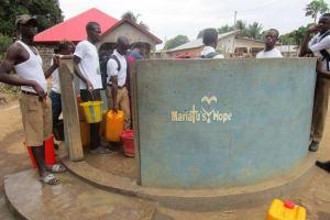 The Water Project: Lungi, Rotifunk, 1 Aminata Lane -  School Well