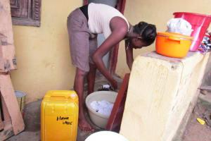 The Water Project: Lungi, Rotifunk, 1 Aminata Lane -  Washing Clothes