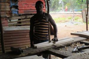 The Water Project: Lungi, Rotifunk, 1 Aminata Lane -  Woodworking
