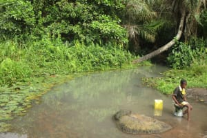 The Water Project: Lokomasama, Gbonkogbonko, Kankalay Primary School -  Alternate Water Source