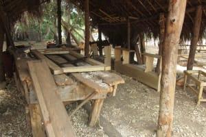 The Water Project: Lokomasama, Gbonkogbonko, Kankalay Primary School -  Carpentery Workshop