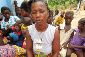 The Water Project: Lokomasama, Gbonkogbonko, Kankalay Primary School -  Fatmata Kamara